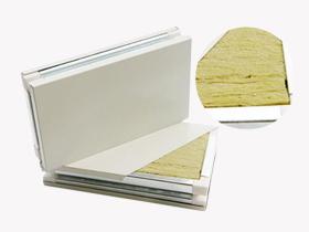 手工岩棉夹芯彩钢板
